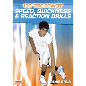 130 Pro Power Speed, Quickness and Reaction Drills DVD