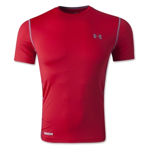 Under Armour HeatGear Sonic Fitted T-Shirt (Red)