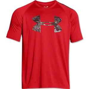Under Armour Core Logo Graphic T-Shirt (Red)