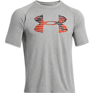 Under Armour Core Logo Graphic T-Shirt (Gray)