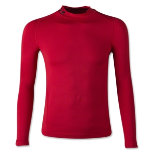 Under Armour Youth ColdGear EVO Fitted Long Sleeve Mock (Red)