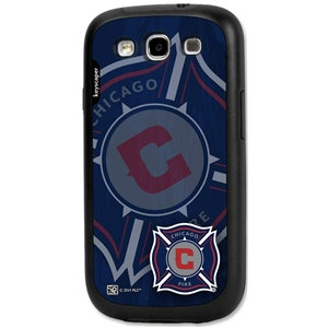 Chicago Fire Galaxy S3 Rugged Case (Corner Logo)