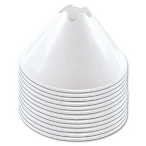 Large Disc Cone (White)