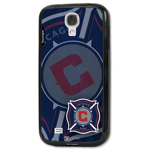 Chicago Fire S4 Galaxy Bumper Case (Corner Logo)