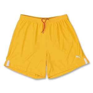 PUMA Lyon Soccer Shorts (Yellow)