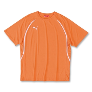 PUMA Vencida Soccer Shirt (Orange)
