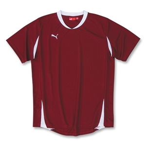 PUMA Powercat 5.10 Shirt (Maroon/Wht)