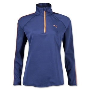PUMA Women's 1/2 Zip Pullover (Blue)