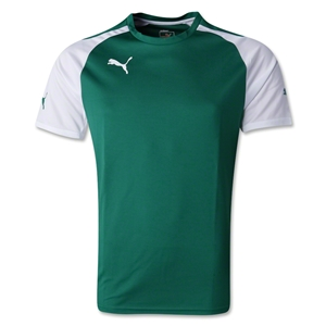 PUMA Speed Jersey (Green/Wht)
