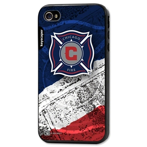 Chicago Fire iPhone 4/4s Bumper Case (Center Logo)