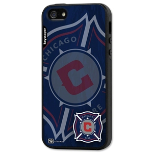Chicago Fire iPhone 5/5S Rugged Case (Corner Logo)