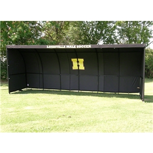 The Soccer Wall Team Shelter (Black)