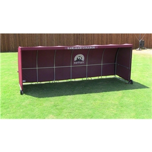 The Soccer Wall Team Shelter (Maroon)