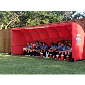 The Soccer Wall Team Shelter (Red)