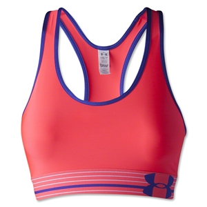 Under Armour Heatgear Alpha Bra (Magenta)