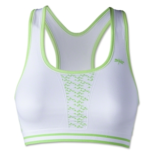 Dragonwing girlgear Racer Sports Bra (White/Lime)