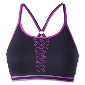 Dragonwing girlgear Keyhole Sports Bra (Black/Pink)