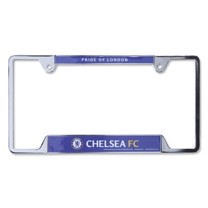 Chelsea Metal License Plate Frame
