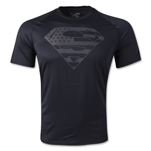 Under Armour Alter Ego USA Superman T-Shirt (Black)