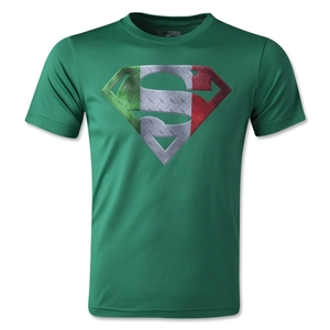 Under Armour Youth Alter Ego Mexico Superman T-Shirt (Green)