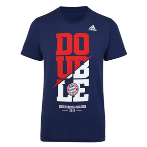 Bayern Munich 2014 Double Winner T-Shirt