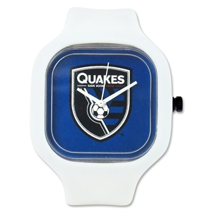 San Jose Earthquakes White Watch