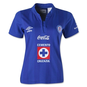 Cruz Azul 13/14 Women's Home Soccer Jersey