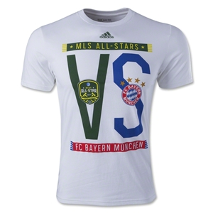 MLS All Star 2014 Dueling Scarves T-Shirt