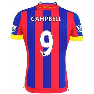 Crystal Palace 14/15 CAMPBELL Home Soccer Jersey