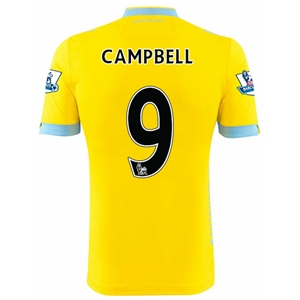 Crystal Palace 14/15 CAMPBELL Away Soccer Jersey