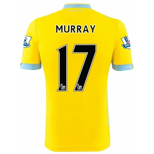 Crystal Palace 14/15 MURRAY Away Soccer Jersey
