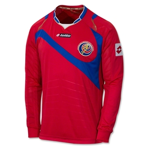 Costa Rica 2014 LS Home Soccer Jersey