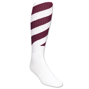 Red Lion Tornado Socks (White/Maroon )