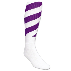 Red Lion Tornado Socks (White/Purple)