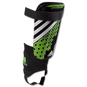 adidas Predator Club Shinguard (Black/Ray Green)