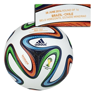 adidas Brazuca 2014 FIFA World Cup Official Match-Specific Ball (Match 49)