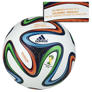 adidas Brazuca 2014 FIFA World Cup Official Match-Specific Ball (Match 50)