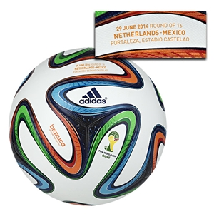 adidas Brazuca 2014 FIFA World Cup Official Match-Specific Ball (Match 51)