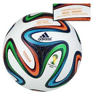 adidas Brazuca 2014 FIFA World Cup Official Match-Specific Ball (Brazil-Germany)