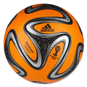 adidas 2014 Brazuca Winter Ball (Warning/Black/Silver)