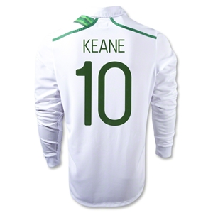 Ireland 12/13 KEANE Long Sleeve Away Soccer Jersey