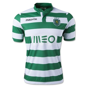 Sporting Clube 14/15 Home Soccer Jersey