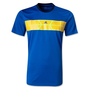 adidas Nitrocharge Poly T-Shirt (Blue)