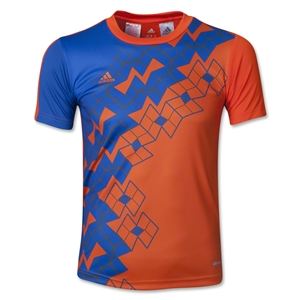 adidas Youth Predator ClimaLite T-Shirt (Orange)