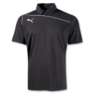 PUMA Pulse Coach Polo (Blk/Wht)