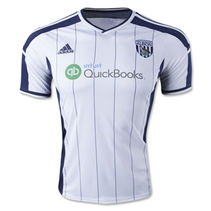 West Bromwich 14/15 Home Soccer Jersey