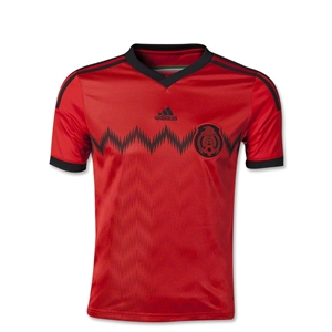 Mexico 2014 Youth Away Soccer Jersey