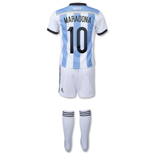 Argentina 2014 MARADONA Home Mini Kit