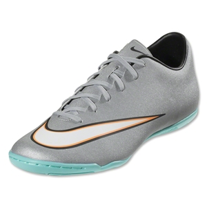 Nike Mercurial Victory V CR IC (Metallic Silver/Black)