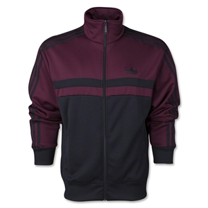 adidas Originals adi-Icon Track Top (Black/Maroon)